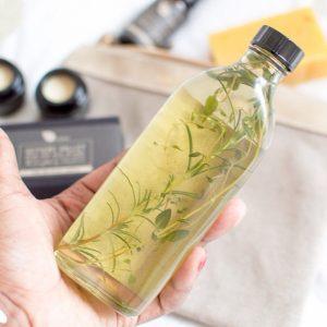huile de bain ambre botanical